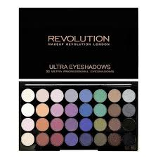 makeup revolution 32 eye palette mermaids forever