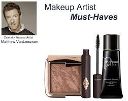 makeup artist must haves inside matthew vanleeuwen s kit