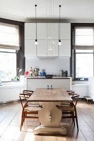 Ambiance Cosy Par Le Luminaire Led Dans Une Cuisine Moderne Design