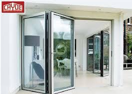 china front door designs exterior aluminium glass folding door with aluminium frame hinge handle china bathroom door interior door