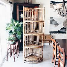Wicker Corner Shelves Rattan Bookshelves Bamboo Gump S 100 Wicker Shelf Arch Floor Corner 38