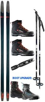 Rossignol Bc 65 Size Chart Rossignol Bc 65 Back Country Ski Package 28 Off