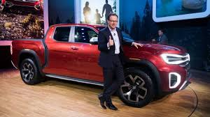 A Volkswagen pickup truck? VW stuns New York Auto Show with Atlas ...