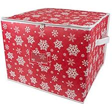 Christmas Decorations Storage Box Amazon Simplify 100Count Christmas Ornament Storage Box Home 9