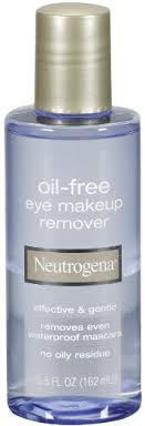 neutrogena cleansing oil free eye makeup remover