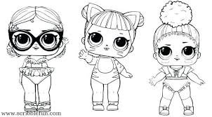Barbie Doll Coloring Pages Print Games Paper Dolls Page Cute