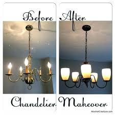 painting a brass chandelier brass chandelier painted black black chandelier painted top best brass chandelier makeover painting a brass chandelier