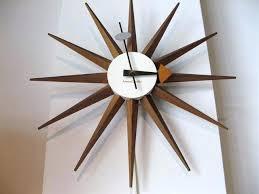 george nelson wall clocks nelson wall clock nelson sunburst clock metro modern nelson sunburst wall clock