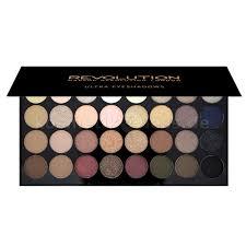 makeup revolution 32 eyeshadow palette flawless cosmetics false eyelashes makeup revolution ultra matte