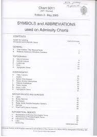 Admiralty Chart Symbols Part 1 Symbols And Abbreviations On Admiralty Charts Pdf