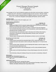 project manager resume sample image manager resumes samples