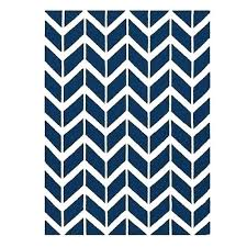 blue striped area rug rugs love navy chevron and 8x10