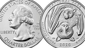 New Mexico Quarter Design Us Mint Issuing Fruit Bat Quarter For 2020