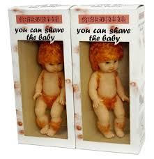 Shave the baby asian toy