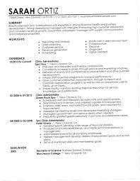 Business Administration Resume Business Management Resume Examples