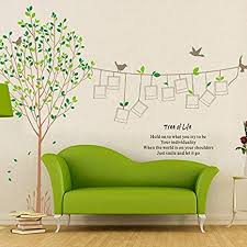 Buy CuteWallDesigns Extra <b>Large</b> Full Wall <b>3D</b> Family <b>Tree</b> Photo ...