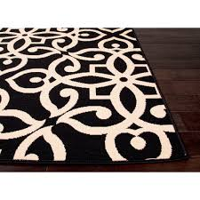 2018 black and tan area rug 50 photos home improvement