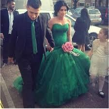 green wedding dress 100 images 2017 s bridal trends vogue a