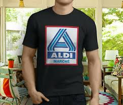 Details About New Popular Aldi Supermarket Grocery Food Store Mens Black T Shirt Size S 3xl