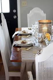 Small Picture Thanksgiving home decor ideas festive atmosphere in Gold And