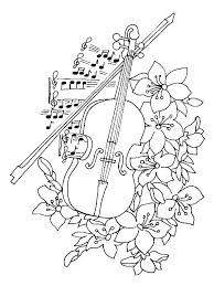 Colouring Pictures Of Musical Instruments Music Instruments Coloring