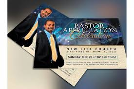 Pastorniversary Flyer Template Free Brochure Program