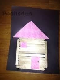 log cabin toddler craft from poohsden