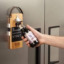 bullware wood wall mounted chalkboard bottle opener