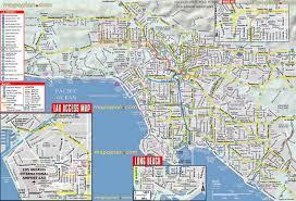 map of la tourist attractions  haxballco