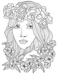 Coloring Pages Hair Fun Hair Color Ideas Kids Coloring Pages Pro For