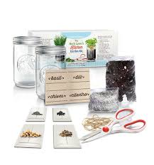 Kitchen Garden Kit Amazoncom Herb Lovers Kitchen Garden Kit By Abundant Living