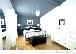 sloped ceiling bedroom slanted decorating ideas painting for bedrooms with attic