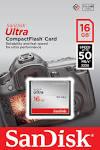 Compact Flash Card 16Gb SanDisk Ultra