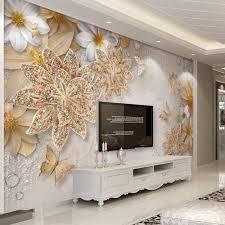 Großhandel Benutzerdefinierte Mural Tapete Für Schlafzimmer Wände 3d