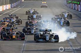 The baku city circuit will stage its fifth f1 race next month. 1n0hl5yhzsgbam