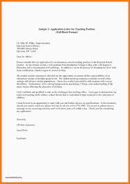 Sample Education Cover Letter 9 Cover Letters For Teachers Examples Cover Letter