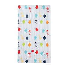 bbest multicoloured rectangular non slip bathtub mat w