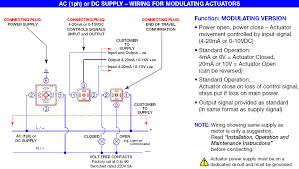 wiring diagram of plast o matic series ebva electric actuator for modulating plastic ball