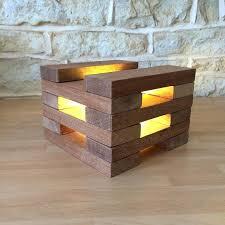 diy wooden desk lamp wooden table lamp desk modern inside decor