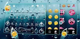 Glass <b>Water Drop</b> Keyboard Theme - Apps on Google Play