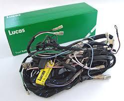 genuine lucas main wiring harness triumph pre unit t120 tr6 genuine lucas main wiring harness triumph pre unit t120 tr6 lu54094163