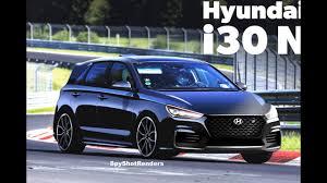 2018 hyundai i30. plain 2018 2018 hyundai i30 n  spy shot render preview elantra gt n with hyundai