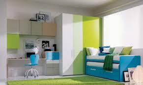 simple kids bedroom. Wonderful Kids Room Design For Kids  Simple Sunny Fun Teenage Bedroom With Green  Rug Desk Combination And 2