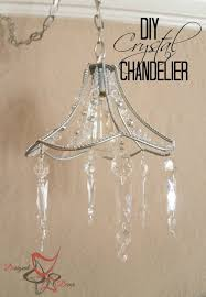 diy crystal chandelier interesting diy crystal chandelier pinnable