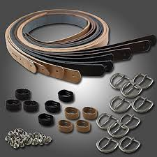 springfield leather co diy leather belt kit embossed tooling leather belt kit