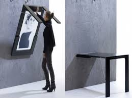 Fold Down Dining Table Wall Mounted 2017 With On Inspirations