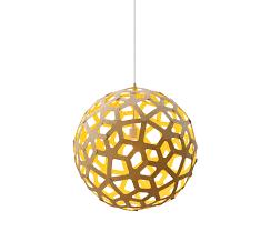 yellow pendant lighting. Coral By David Trubridge Studio Yellow Pendant Lighting