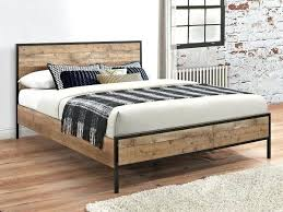Rustic King Size Bed Urban Rustic King Size Bed Frame Rustic Wooden ...