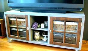 storage furniture with doors tall corner television cabinet media cabinets tv small stands acacia wooden glass