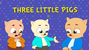 three little pigs and the big bad wolf fairy tales animated cartoon stories for children